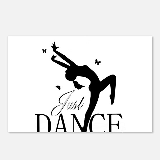 Cute Dance Postcards (Package of 8)