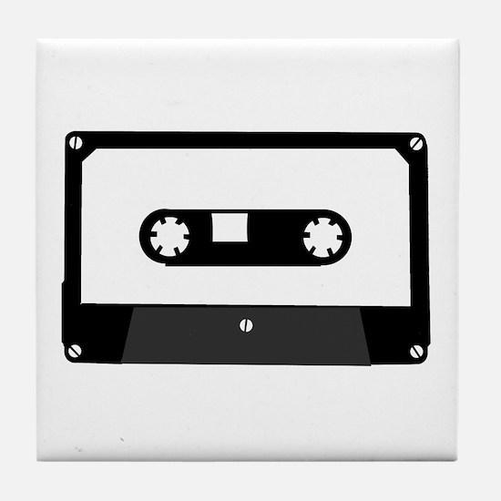 Cassette Tape Tile Coaster