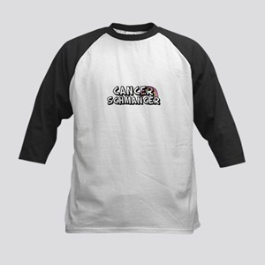 Cancer Schmancer Kids Baseball Jersey