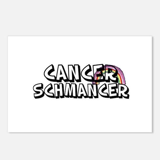 Cancer Schmancer Postcards (Package of 8)