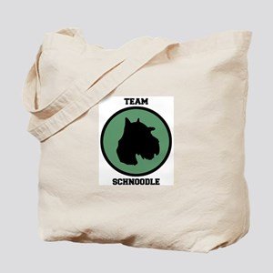 Team  Schnoodle (green) Tote Bag
