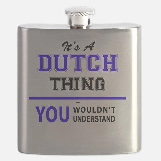 Cute Dutch Flask