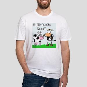Talk 2 Da Hoof Fitted T-Shirt
