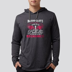 Real Men Become Mechanics T Sh Long Sleeve T-Shirt