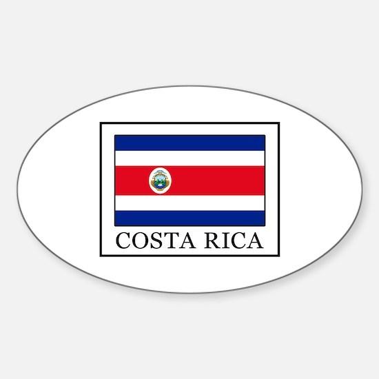 Costa Rica Decal