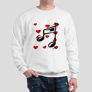 Music Hearts Sweatshirt