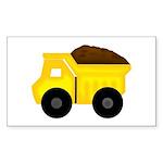 Dump Truck Sticker