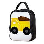 Dump Truck Neoprene Lunch Bag