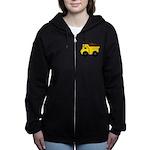 Dump Truck Women's Zip Hoodie