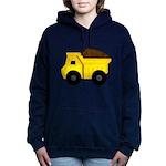 Dump Truck Women's Hooded Sweatshirt