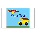 Trucks and Planes Sticker