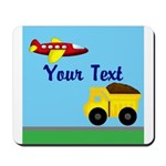 Trucks and Planes Mousepad
