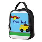Trucks and Planes Neoprene Lunch Bag
