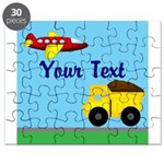 Trucks and Planes Puzzle
