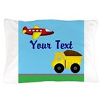 Trucks and Planes Pillow Case