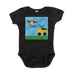Trucks and Planes Baby Bodysuit