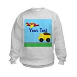 Trucks and Planes Sweatshirt