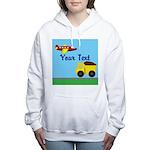 Trucks and Planes Women's Hooded Sweatshirt