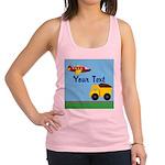 Trucks and Planes Racerback Tank Top