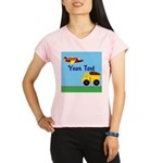 Trucks and Planes Performance Dry T-Shirt