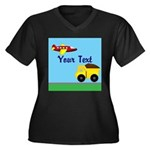 Trucks and Planes Plus Size T-Shirt