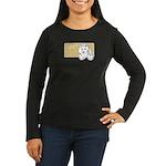 Babe Women's Long Sleeve Dark T-Shirt