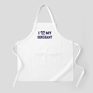 Love My Sergeant BBQ Apron