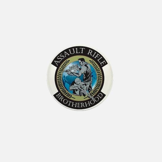 Assault Rifle Brotherhood Mini Button