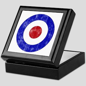 Sixties Mod Emblem Keepsake Box