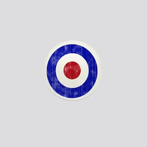 Sixties Mod Emblem Mini Button