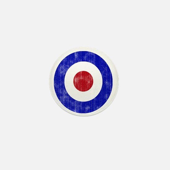 Sixties Mod Emblem Mini Button