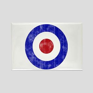 Sixties Mod Emblem Rectangle Magnet