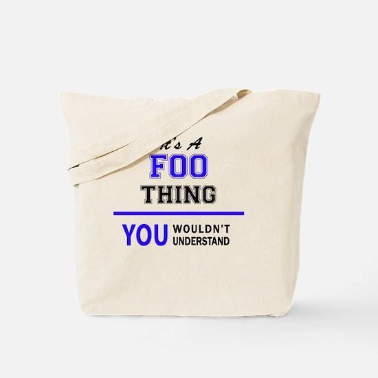 Cute Foo Tote Bag