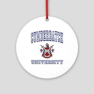 CUMBERBATCH University Ornament (Round)