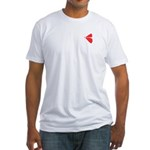 Lovelips logo Fitted T-Shirt