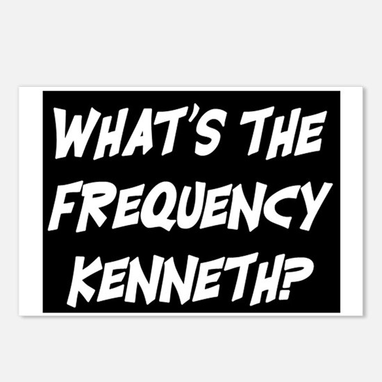 WHAT'S THE FREQUENCY? Postcards (Package of 8)
