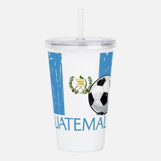 Guatemala Futbol Acrylic Double-wall Tumbler