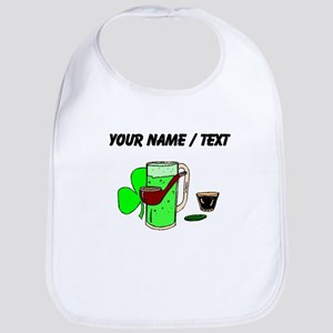 Custom Green Beer Bib
