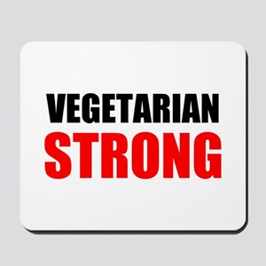 Vegetarian Strong Mousepad