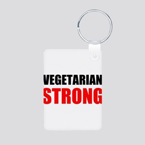 Vegetarian Strong Keychains