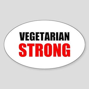 Vegetarian Strong Sticker
