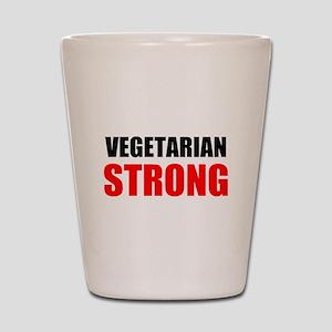 Vegetarian Strong Shot Glass