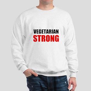 Vegetarian Strong Sweatshirt