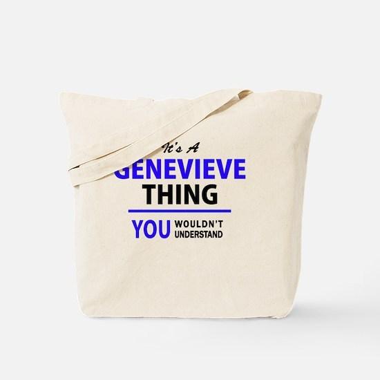 Unique Genevieve Tote Bag