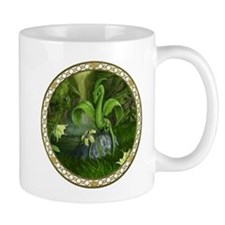 Lily flower Leaf dragon Mug