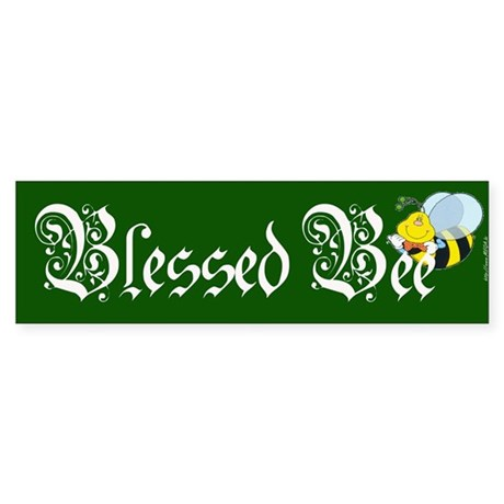 Blessed Bee - Wicca Bumper Sticker