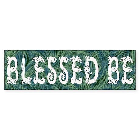 Blessed Be - Wicca Bumper Sticker
