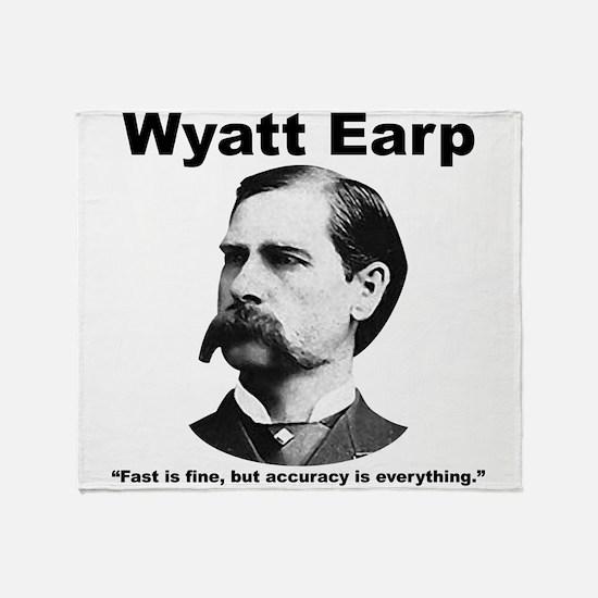 Earp: Accuracy Throw Blanket