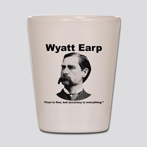 Earp: Accuracy Shot Glass