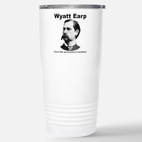 Earp: Accuracy Stainless Steel Travel Mug
